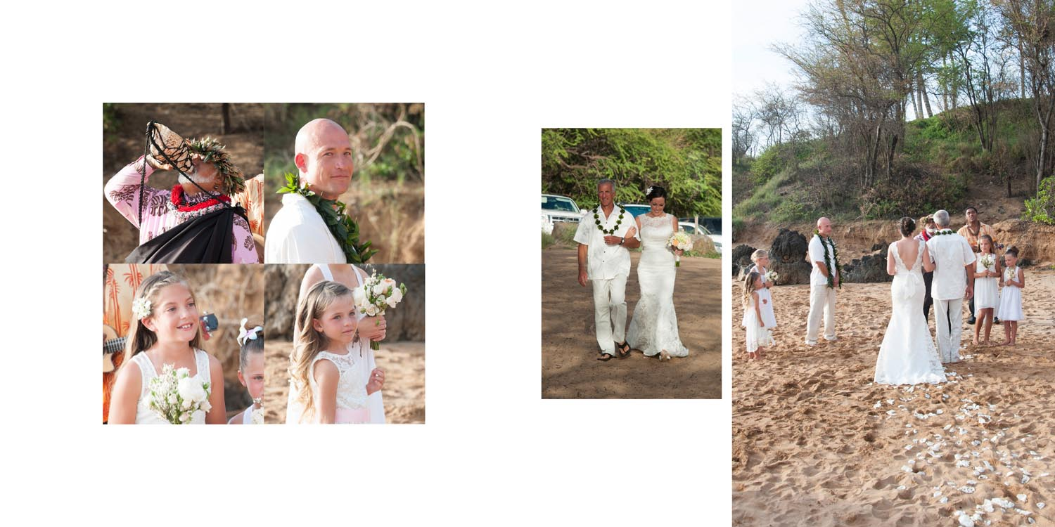 Maui Beach Wedding Photo Album