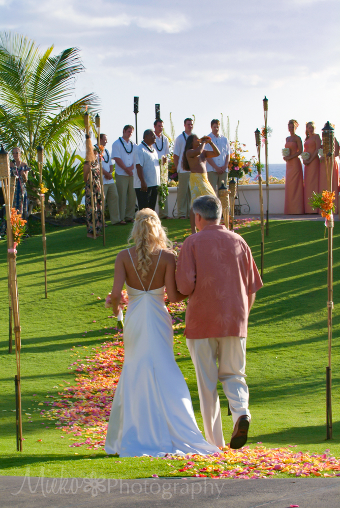 Fairmont Kea Lani Wedding at Pacific Terrace
