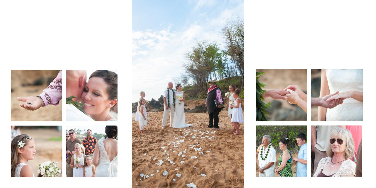 Wailea Wedding Photo Album