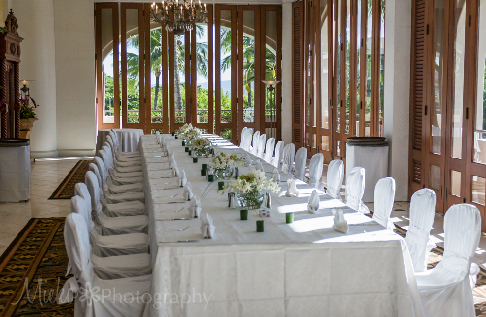 Fairmont Kea Lani Wedding at Lobby Mezzanie